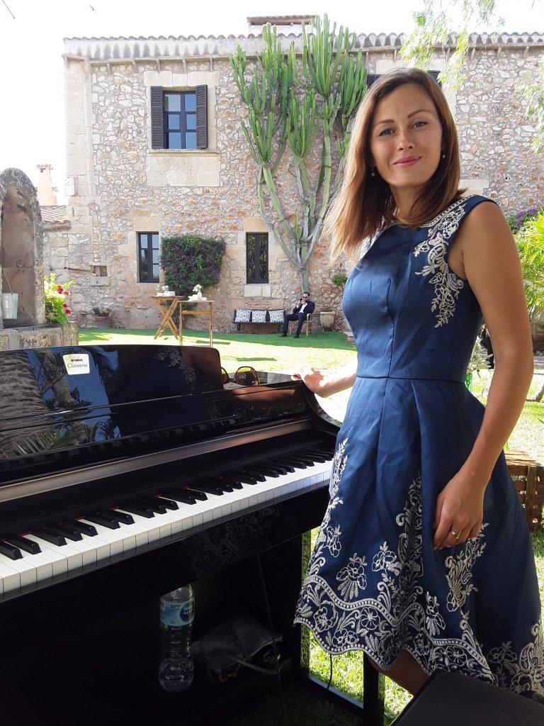 Pianistin Mallorca