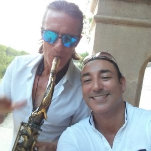 axophonist Mallorca Norbert Fimpel